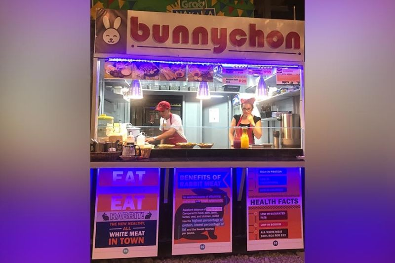 HEALTHY VENTURE: Business owner Daryl Garcia says opening Bunnychon will allow them to raise awareness on the health benefits of rabbit meat and at the same time augment the income of farmers and encourage more to venture into rabbit farming. (SunStar photo / Katlene O. Cacho)