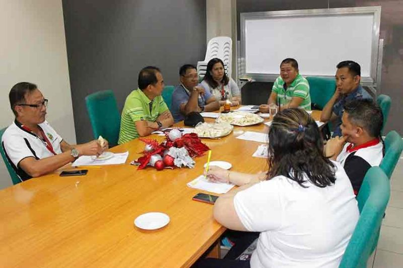 BACOLOD. The Bacolod City Task Force All Saints' Day, headed by Executive Assistant Ernesto Pineda (fifth from left), meets at the Bacolod City Government Center October 29 to finalize the traffic and security plans for various cemeteries and memorial parks around Bacolod on November 1 to 2, including operations of flower vendors at the Public Plaza and Public Cemetery from October 30 to November 2. (Contributed photo)