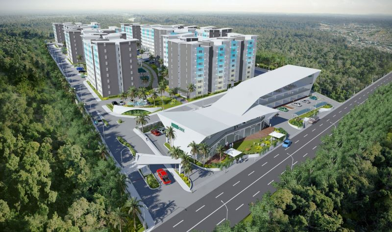 DAVAO. The residential projects of Damosa Land Inc. are seen to contribute largely to the performance of the company by the end of the year. (Damosa Land photo)