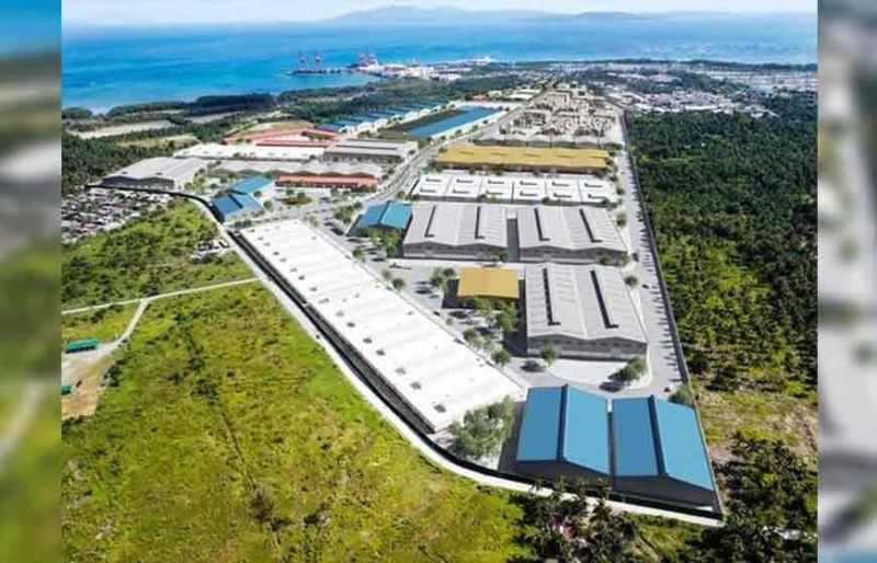 DAVAO. An aerial render of the Anflo Industrial Estate in Panabo City, Davao del Norte. (Photo from AIE)