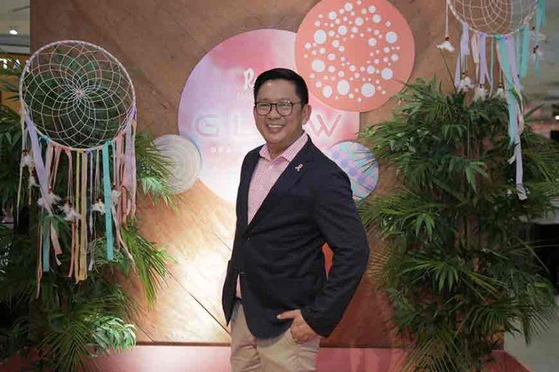 Rustan's Cebu store manager Pepet Macachor