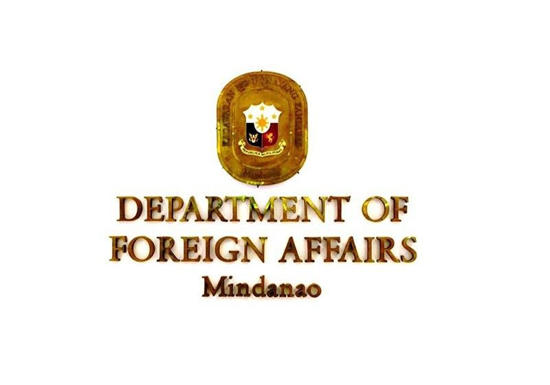 (Photo credit to Department of Foreign Affairs Mindanao Facebook page)