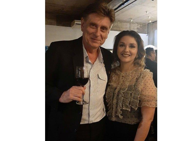 Franz Seidenschwarz and Katherine Goshulak-Rivera