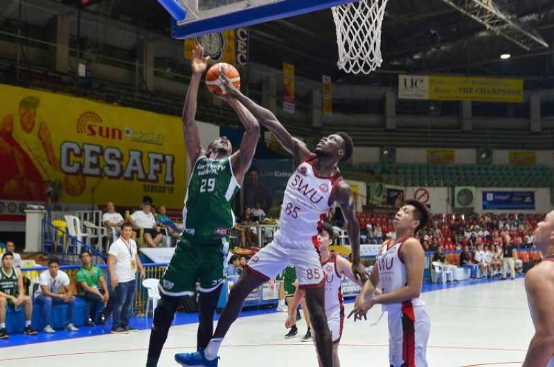 CEBU. The SWU-Phinma Cobras and the UV Green Lancers are expected to figure in an intense affair in the Cesafi on Tuesday night. (Photo contributed by Ron Tolin)