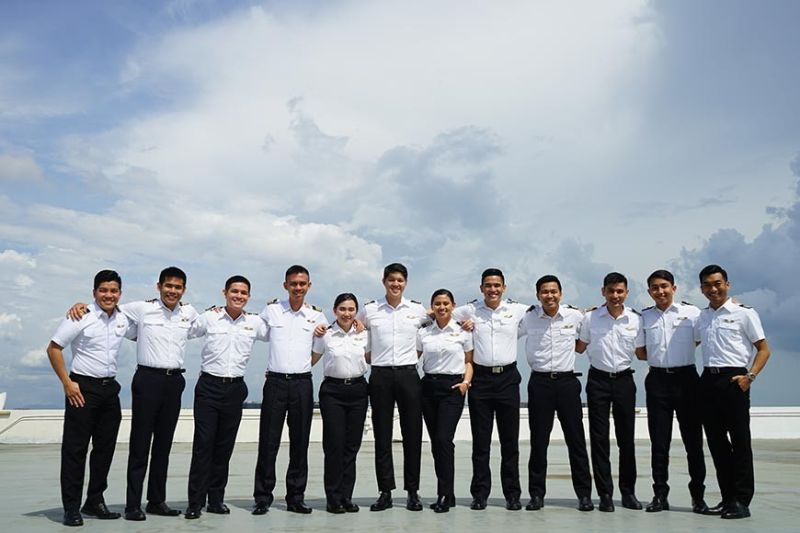 AUSTRALIA. The second batch of Cebu Pacific cadet pilots (left to right): Neil Mark Enriquez, David Jonathan Francisco, Norman Viktor Tugot Jr., Orville Anana, Maria Angelica Ignes, Jerson Leonardo, Michelle Jean Saquing, Christian Andrew Esguerra, Kert Rafols, Terence Cruz, Tristan Gacott, and Ferdyn Ranosa. (Contributed photo)