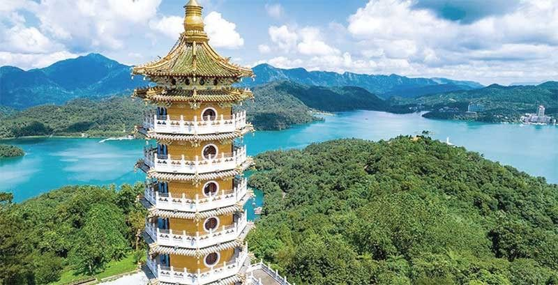 SUN MOON LAKE. The biggest lake in Taiwan located at the foothills of the Central Mountain Range in Taichung. (Contributed Photo)