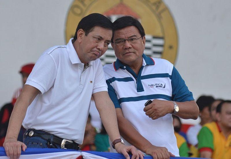 Cebu City Mayor Edgardo Labella (right) and Vice Mayor Mike Rama. (SunStar File)