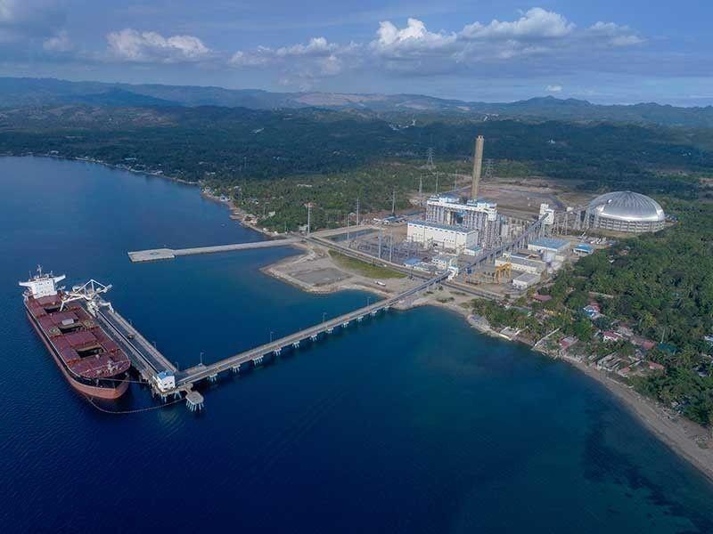 Therma Visayas Inc. baseload power plant in Toledo City, Cebu (File Photo)