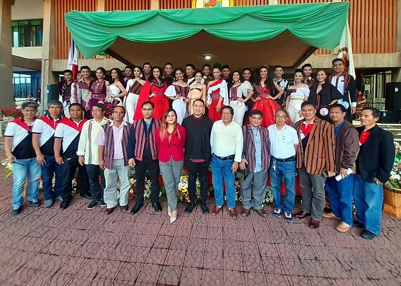 BENGUET. The 13 pairs of Mr. and Ms. Adivay in their casual attire with provincial officials and guests during the opening of the 2019 Benguet  Adivay at Benguet capitol on November 6, 2019. Coronation night is slated on November 21 at Benguet Sports Complex. (Redjie Melvic Cawis)