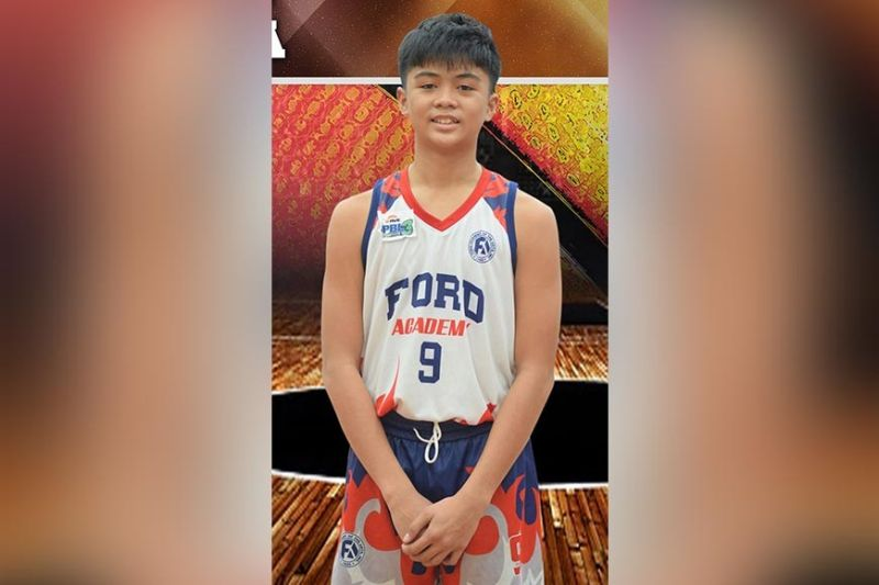 DAVAO. Andrey Apuya of Ford Academy of the Arts lifts his team's victory over Samal National High School in the 3rd RMC Davao Pride Basketball League (DPBL) that resumed recently at RMC Petro Gazz Arena. (DPBL Facebook photo)