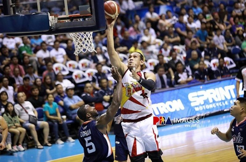 STOKED. Reigning PBA MVP June Mar Fajardo says he is excited to play in front of his hometown once again. (Photo courtesy of PBA)