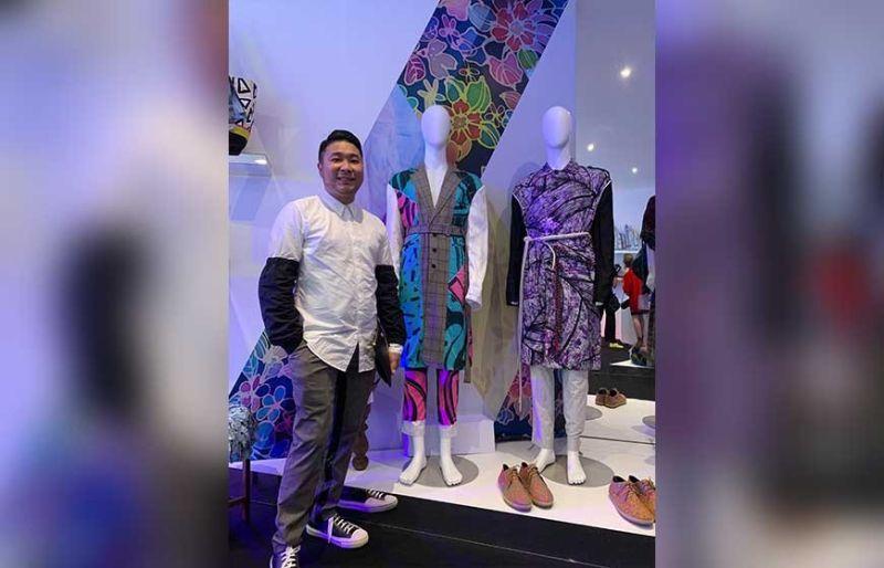 Cebuano fashion designer Edwin Ao. (Contributed Photo)