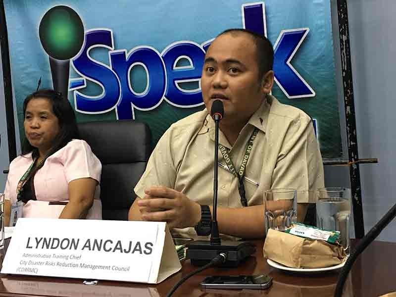 DAVAO. Davao City Disaster Risk Reduction and Management Council administrative training chief Lyndon Ancajas. (SunStar Davao File)