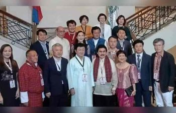 BACOLOD. Imaco officials and delegates with Bacolod City officials pose for posterity. (Contributed photo)