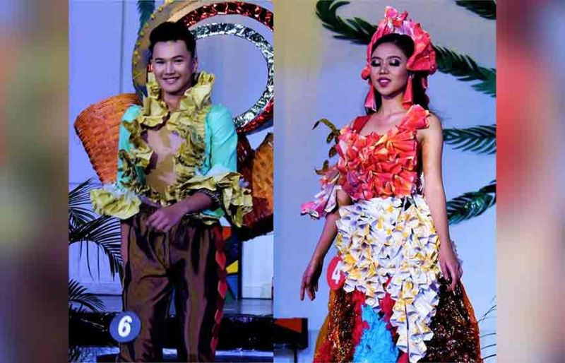 Mr. and Miss SIHTM 2019 #7 Tijih Erman Caguioa and # 4 Mia Tenedero. (Photo by Osharé)