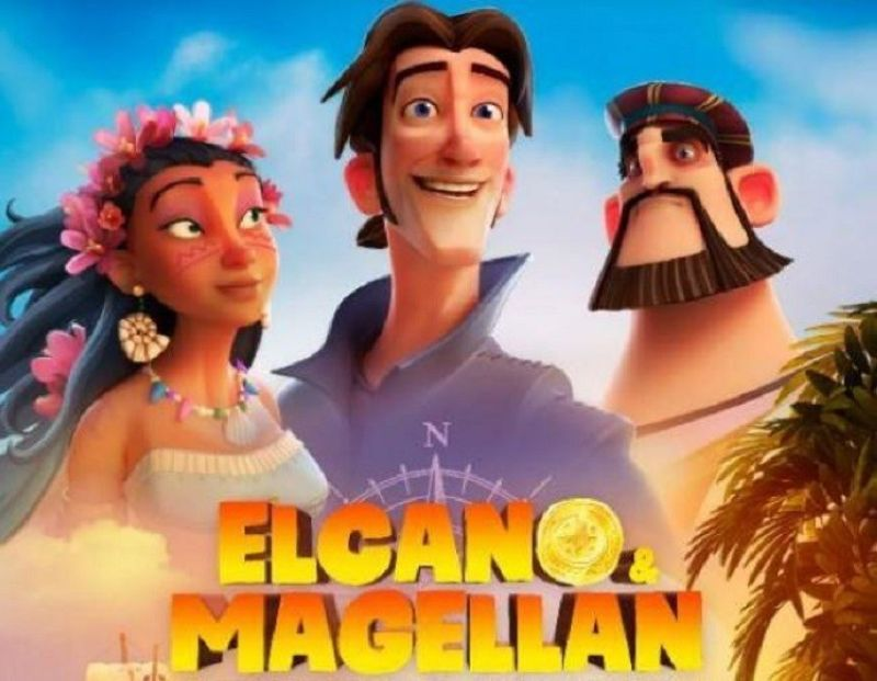 Elcano & Magellan poster. (Photo courtesy of Dibulitoon)