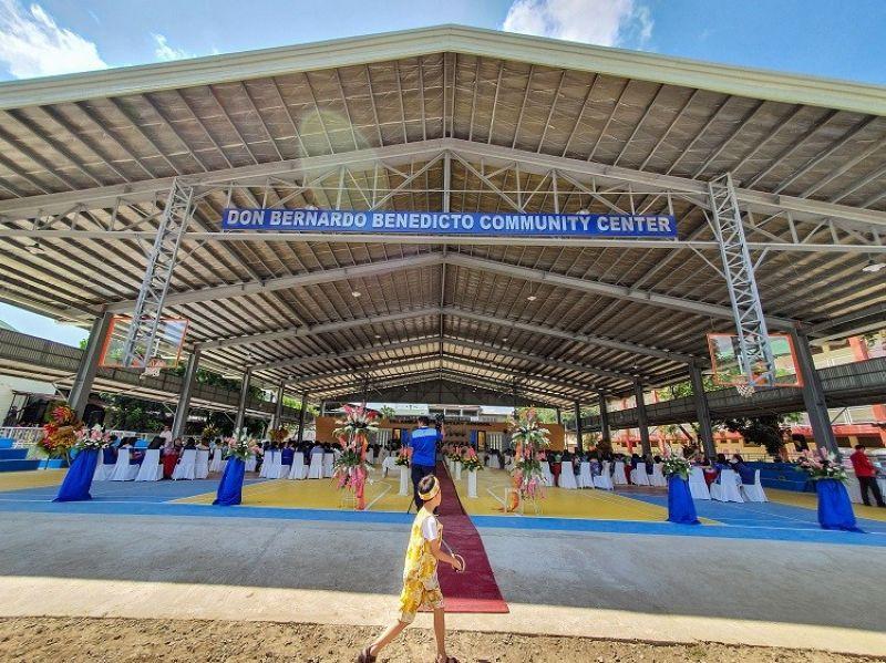 Don Bernardo Benedicto Community Center. (Photo by Arni Aclao)