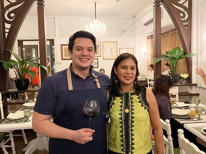 DAVAO. Executive Chef Rob Pengson with sister/co-owner Tricie Pengson-Arcenas. (Photo by Jinggoy I. Salvador)
