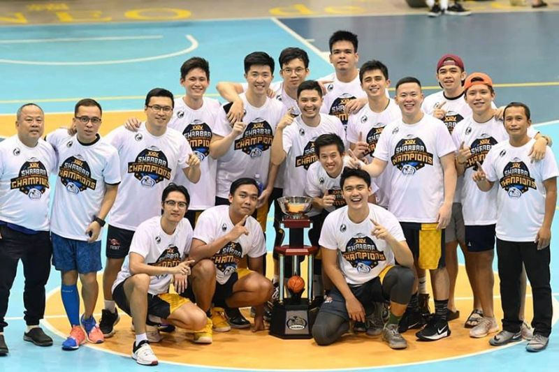 The 2012-Pioneer Auto Supply celebrate after winning the championship in Division C of the SHAABAA Cebu Landmasters Cup.  (Contributed by Anthony Suralta)