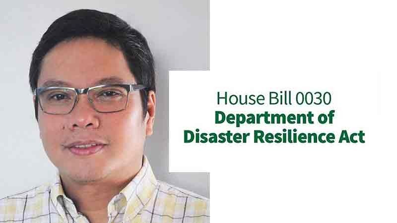 DAVAO. Professor Mahar Lagmay, executive director of the University of the Philippines Resilience Institute, said it is now imperative to create the Department of Disaster Resilience (DDR). (Contributed Photo)