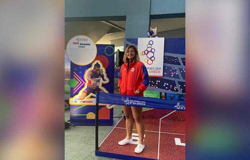 MANILA. Shaira Hope Rivera strikes a pose during the 30th SEA  Games Caravan held Saturday, November 9, at the Mall of Asia Arena. (2019 SEA Games Facebook Page)