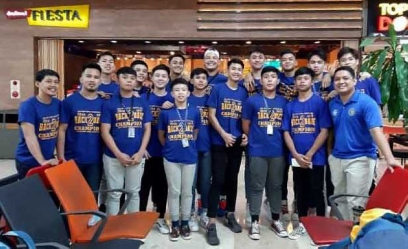 BOUND FOR FINALS. Despite losing two key players, the Sacred Heart School-Ateneo de Cebu made it to the finals of the Milo regional meet. (CONTRIBUTED FOTO)