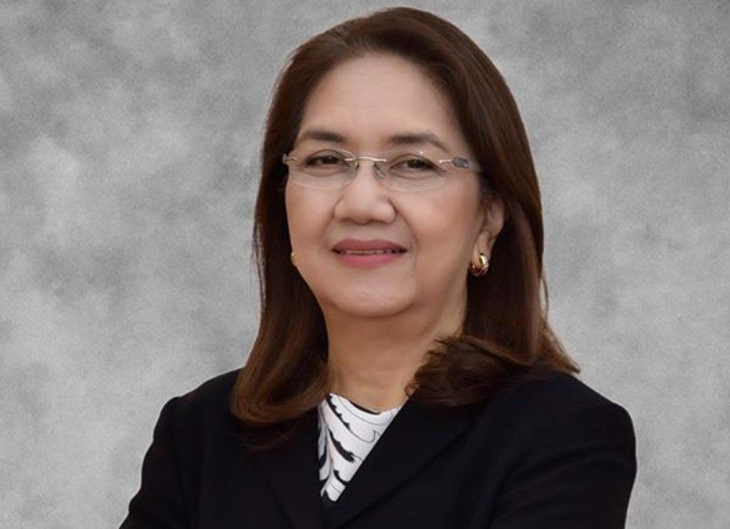 SSS president and chief executive officer Aurora C. Ignacio <b>(Photo grabbed from the SSS website)</b>