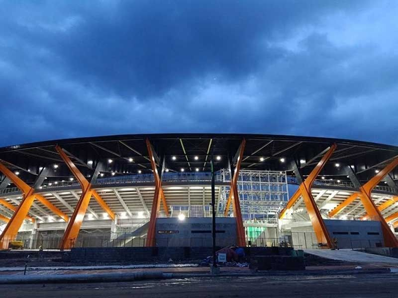 CLARK. The Athletics Stadium in New Clark City can seat 20,000. It will be the venue for the 2019 SEA Games closing ceremony. (Photo from SEA Games Facebook)