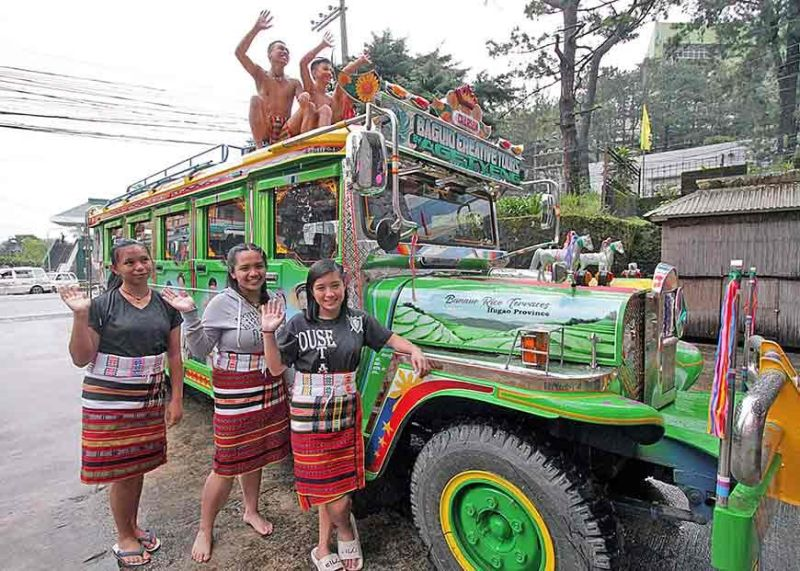 BAGUIO. A uniquely designed 20-seater jeepney starts touring in the different parts of Baguio City offering three tour packages within the Summer Capital. It is operated by a travel and tours agency. (Jean Nicole Cortes)