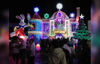ZAMBOANGA. The Festival of Lights, initiated by the Zamboanga Sibugay Provincial Government, opens Saturday, November 9, 2019. It is now on its third year. Shown in the photo is the entry of the vice governor's office and Provincial Board. (SunStar Zamboanga)