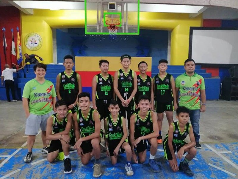 The GLA Knights scored its fourth win after crushing Victoriano D. Tirol Advanced Learning Center in the 14-under division on Saturday, November 9, 2019.. (Contributed photo)