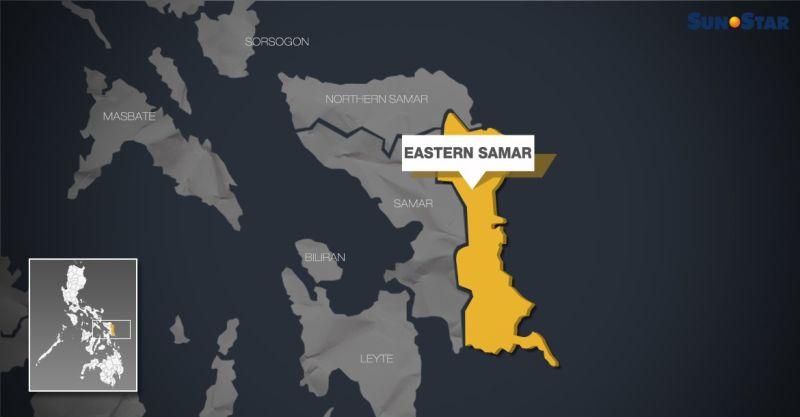 Map of Eastern Samar