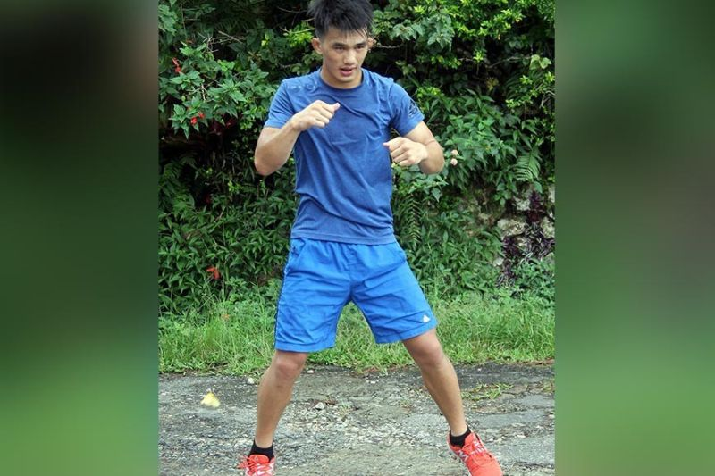 BAGUIO. Riding high on a three-fight winning streak, Team Lakay's Jeremy Pacatiw is seeking to sustain his run in 2019 with another victory against Ali Qaisi in the undercard of Brave Combat Federation on November 15 at the Khalifa Sports City Arena, in Isa Town, Bahrain. (Roderick Osis)