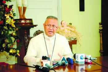 Cebu Archbishop Jose Palma (File photo)