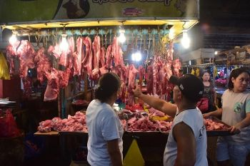 SUFFICIENT? Alvin Teves, past president of Hog Farmers Association of Davao, Inc. (HogFADI), said Mindanao hog raisers are able to meet the demands for pork in the country. However, another hog industry leader said this could raise the local price of pork. (Macky Lim)