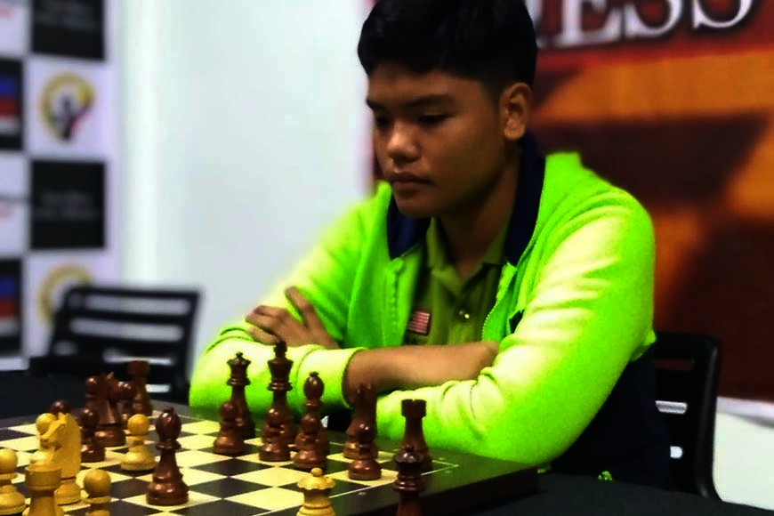 CAGAYAN DE ORO. Secondary champ David Rey Ancheta of Corpus Christi School. (Contributed photo)