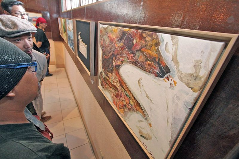 BAGUIO. Baguio-Taebaek Artists Exchange Program held a