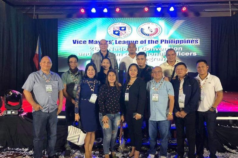 CEBU. Vice Mayor El Cid Familiaran is elected unopposed as National Deputy Secretary General for Visayas of the Vice Mayor's League of the Philippines during the 26th National Convention of Vice Mayor's League of the Philippines held at Marco Polo Plaza, Cebu City, Wednesday, November 13, 2019. (Photo by Teresa D. Ellera)