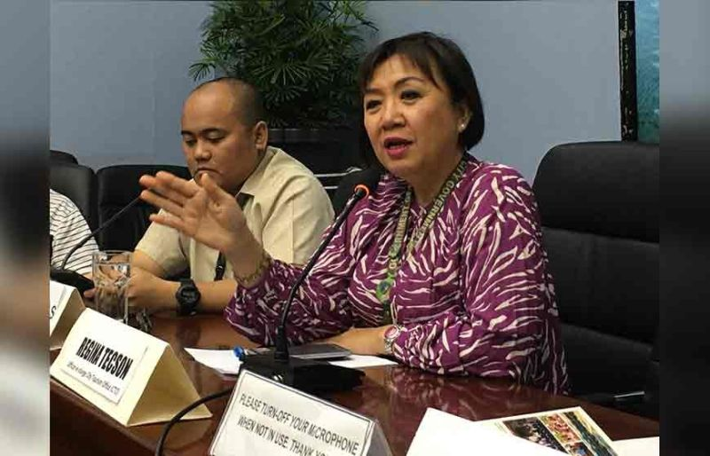 DAVAO. Davao City Tourism Operations Office chief Generose Tecson said the recent earthquake has caused cancellation of events and low number of tourists during the I-Speak forum Thursday, November 14, 2019. (Roberto A. Gumba Jr.)