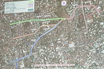 Motorists going to and from Barangay Lahug and Guadalupe, Cebu City won't have to endure the traffic in Escario St. once the 2.33-kilometer diversion road connecting the two barangays will be constructed. (SunStar foto/ Jerra Mae J. Librea)