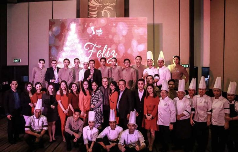 The Seda Ayala Center Cebu team. (Contributed Photo)