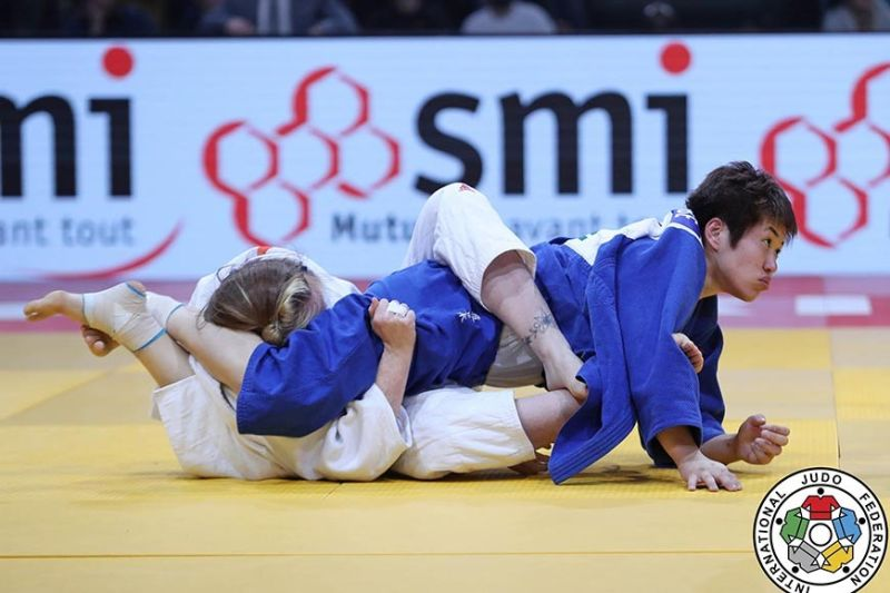 TRIPLE CHAMP. Southeast Asian (SEA) Games triple gold medalist Kiyomi Watanabe will lead the cast of the Philippine national judo team as the country hosts the 30th edition of the biennial meet. (International Judo Federation)