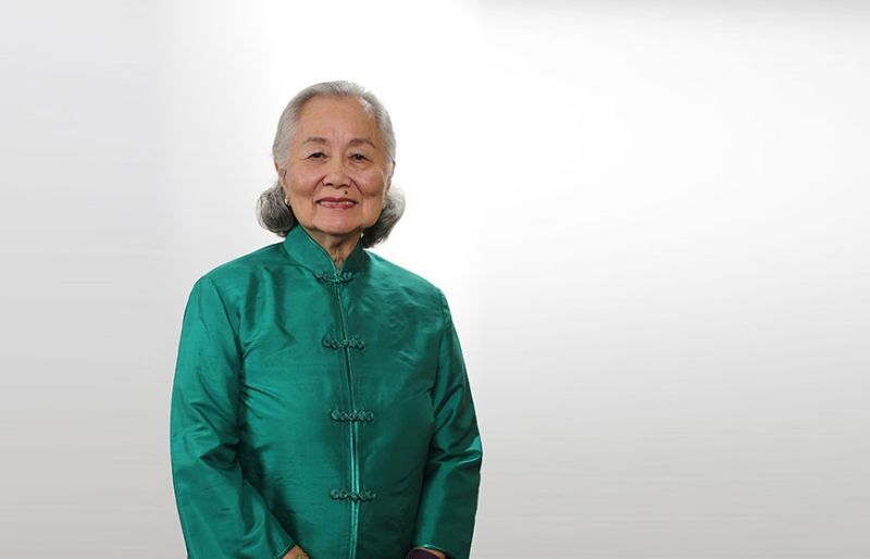 Elizabeth Yu Gokongwei, wife of John Gokongwei Jr. (Photo from Gokongwei Brothers Foundation's website)