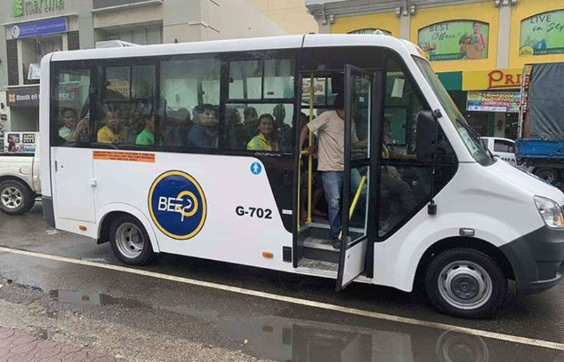 "BEEP STOP. City Councilor Eugenio Gabuya Jr. wants the Cebu City Transportation Office to set up ""beep stops"" to prevent bus-jeeps from picking up and dropping off passengers anywhere. (SunStar File Photo)"