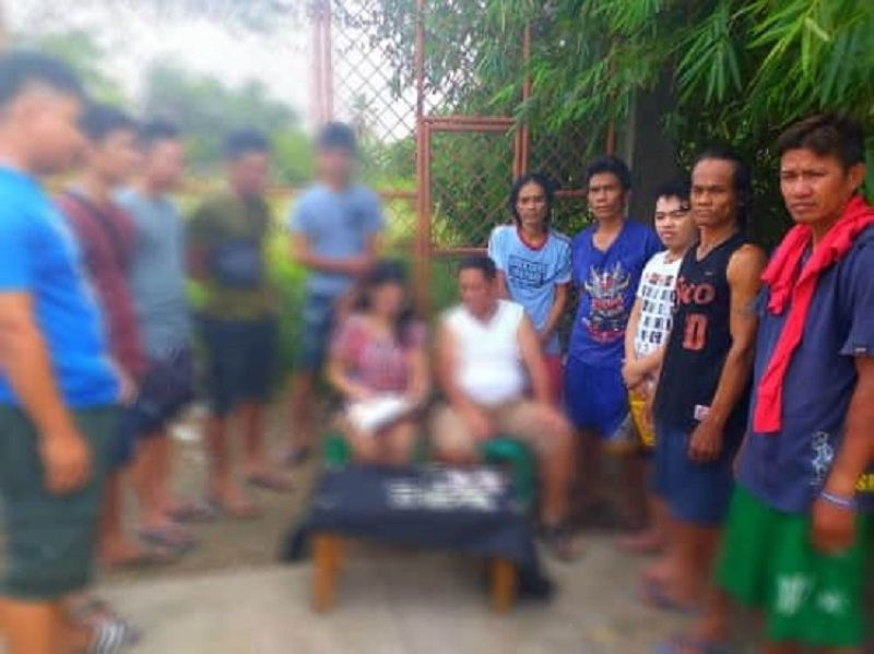 CEBU. Five persons were arrested by the Talisay City Police Station-Drug Enforcement Unit during a buy-bust operation in Sitio Libo, Barangay Mohon, Cebu City. (Contributed photo)