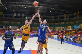 CEBU. UC's star guard Darrell Shane Menina has said he would no longer be returning to play for UC next season. (Photo contributed by Ron Tolin)