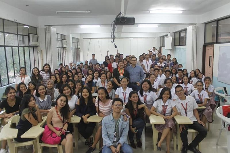 First year USEP students (Photo by Apple Alvarez)