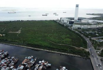 """UNSOLICITED PROPOSAL. Another developer has expressed interest to invest at the South Road Properties (SRP) in Cebu City. Singapore-based Harbour Group wants to build a five-star hotel and resort, a yacht club, condominiums and a retirement village, among others, on Pond A. However, SRP manager Jose Daluz III finds the proposal """"too good to be true."""" (SUNSTAR CEBU / ALLAN CUIZON)"""