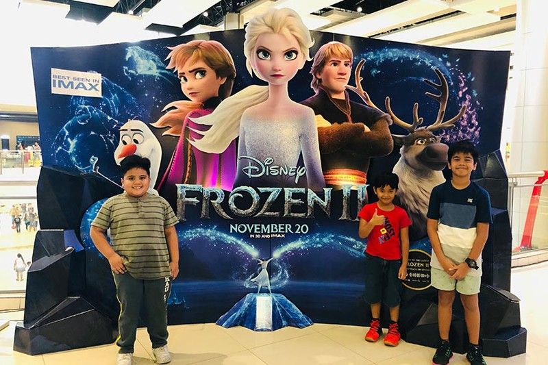 CLARK FREEPORT. Kids ready to watch the most-awaited sequel to Disney's Frozen. Frozen 2 is now showing at SM City Clark (SMCK) IMAX and SMCK's Cinemas 3, 5 and 6. (Charlene A. Cayabyab)