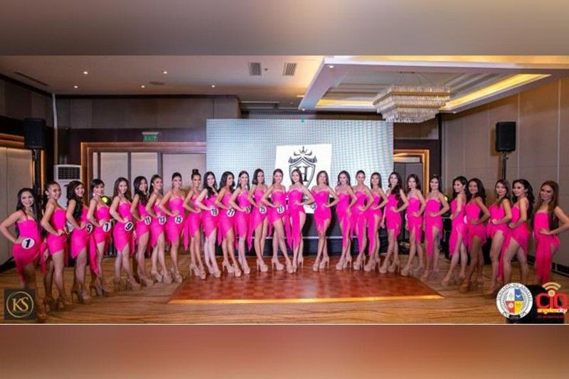 ANGELES CITY. 27 lovely candidates from different barangays vie for the title of Mutya Ning Angeles 2019. (PR)